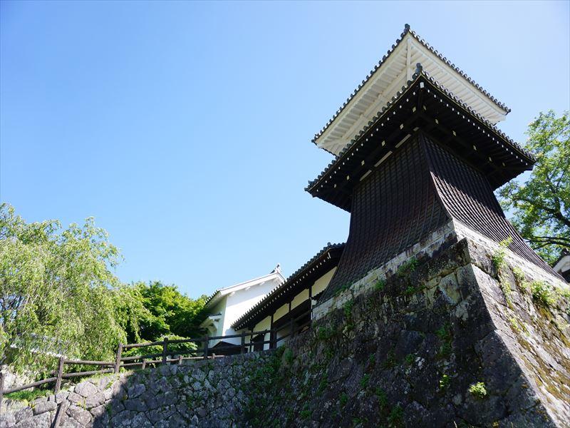 岩村城,復元された藩主邸